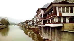 amasya,şehir,türkiye,nehir,ev