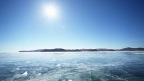 baykal gölü,rusya,buz,güneş,gökyüzü