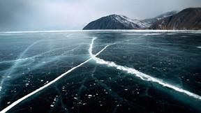 baykal gölü,rusya,buz