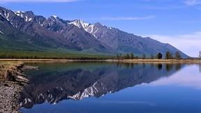 baykal gölü,rusya,orman,dağ,göl
