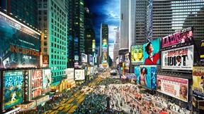 gece ve gündüz,time meydanı,new york