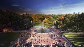 gece ve gündüz,proje,new york,central park