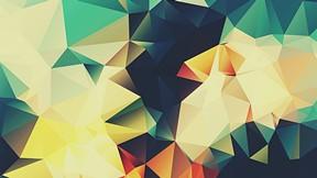 soyut,geometrik,renkli