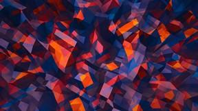 soyut,geometrik,şekil,renkli