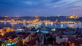 istanbul,türkiye,şehir,gece,deniz,cami