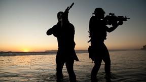 navy seal,özel kuvvet,asker,deniz,günbatımı