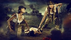 savaş kadınları,proje