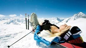 snowboard,kar,dağ,gökyüzü,güneş