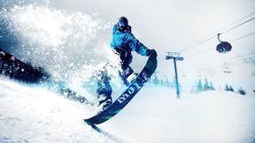 snowboard,kar,dağ