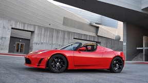araba,tesla,roadster