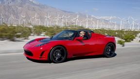 araba,tesla,roadster,sürüş