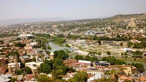 tiflis,şehir,nehir,gürcistan