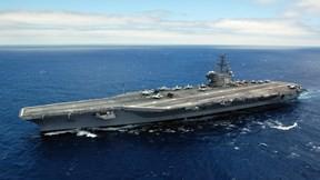 uss ronald reagan,savaş gemisi,deniz,gökyüzü