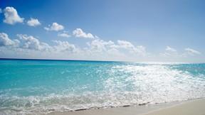yaz,deniz,gökyüzü,kumsal