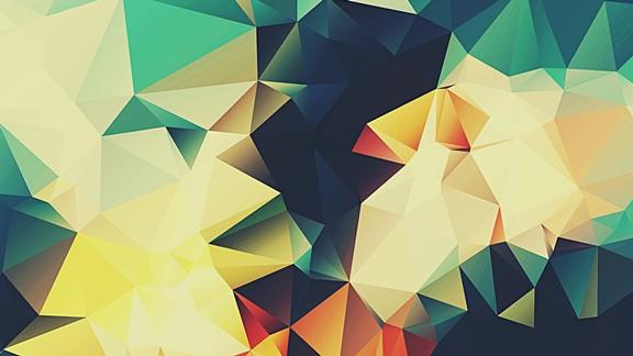 Geometrik Renkli Şekil