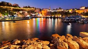 antalya,deniz,şehir,gece,liman