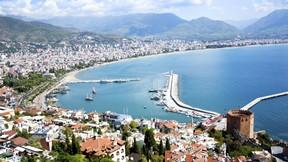 antalya,deniz,şehir