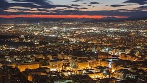 atina,şehir,yunanistan,gece