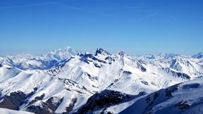 doğa,dağ,kar,kış,gökyüzü