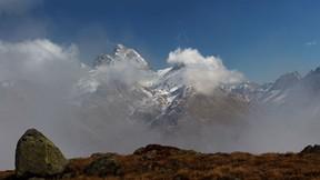 dağ,duman,doğa,gökyüzü