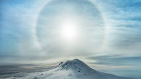 doğa,dağ,zirve,kar,güneş,gökyüzü