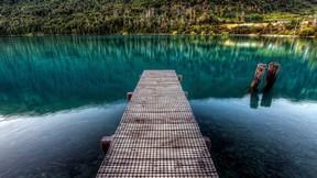 doğa,göl,iskele