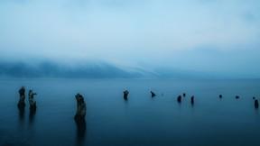 doğa,göl,sis