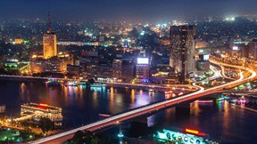 kahire,mısır,şehir,gece