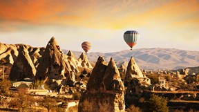 kapadokya,nevşehir,balon