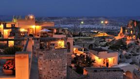 kapadokya,nevşehir,gece