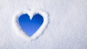 kış,kar,kalp
