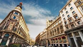 madrid,şehir,ispanya,gökyüzü