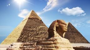 mısır pramitleri,piramit,mısır,gökyüzü,güneş