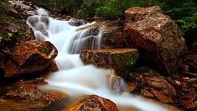 doğa,şelale,dere,kayalık