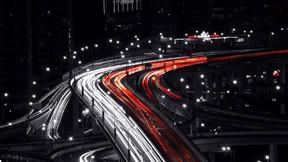 şangay,şehir,çin,gece,yol