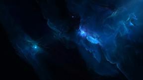 uzay,nebula,mavi