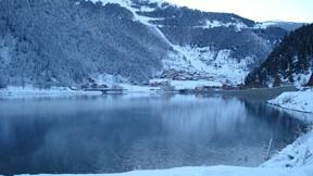 uzun göl,trabzon,göl,doğa,orman,ağaç,kar