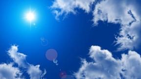 yaz,gökyüzü,güneş,bulut