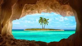 yaz,tropikal,ada,deniz,mağara
