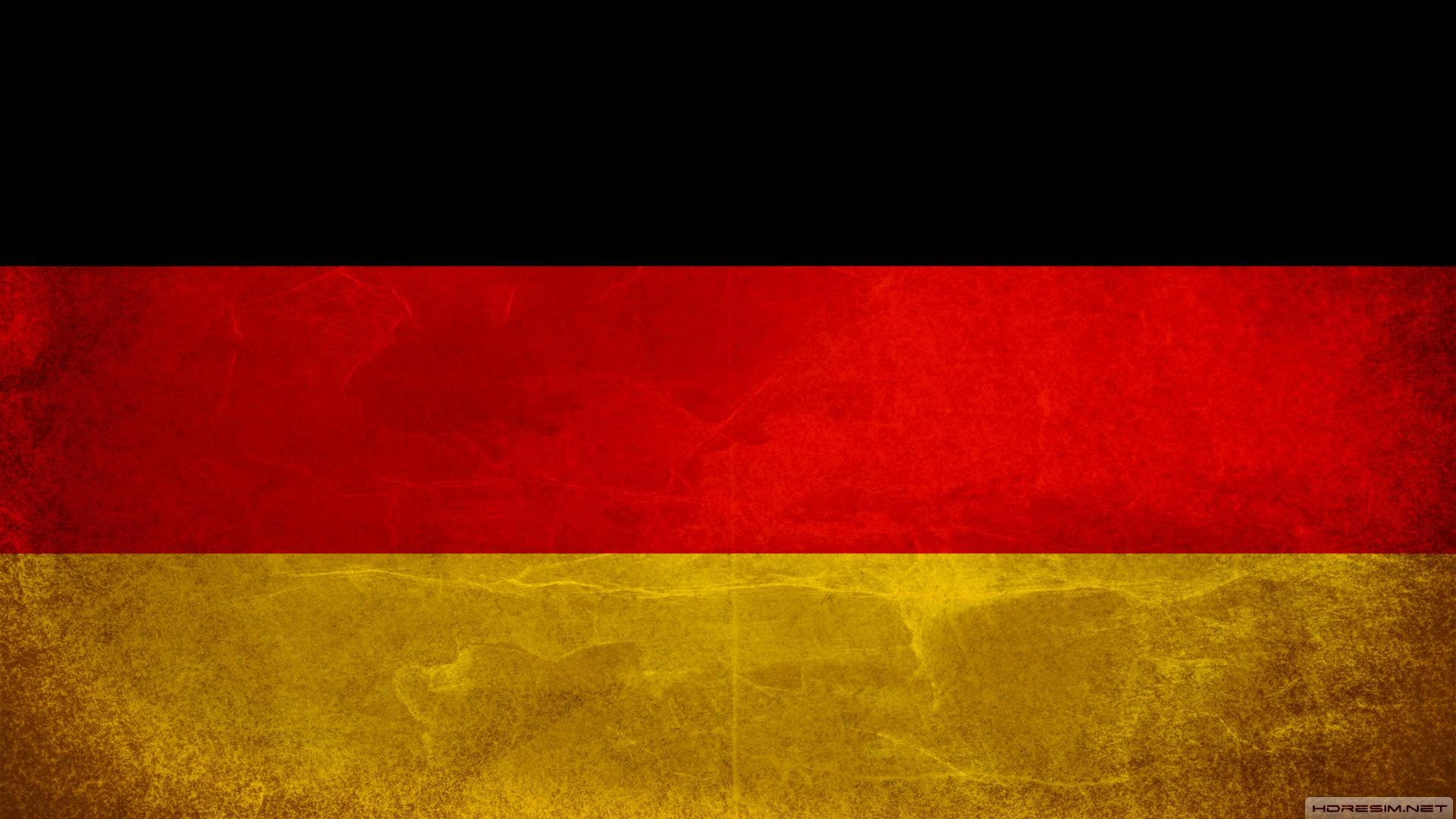 Almanya Bayrağı Full HD Masaüstü Arkaplanı ve Duvar Kağıdı